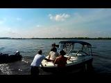 гонки на катерах в честь дня морского флота -Соликамск 2013